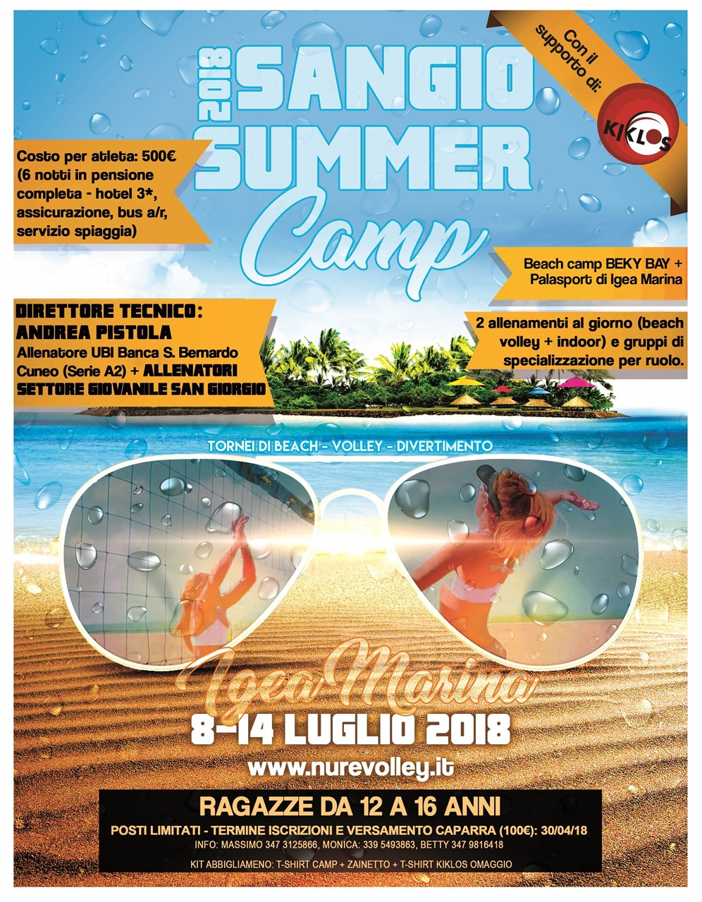 CAMP SUMMER BEACH SAN GIORGIO
