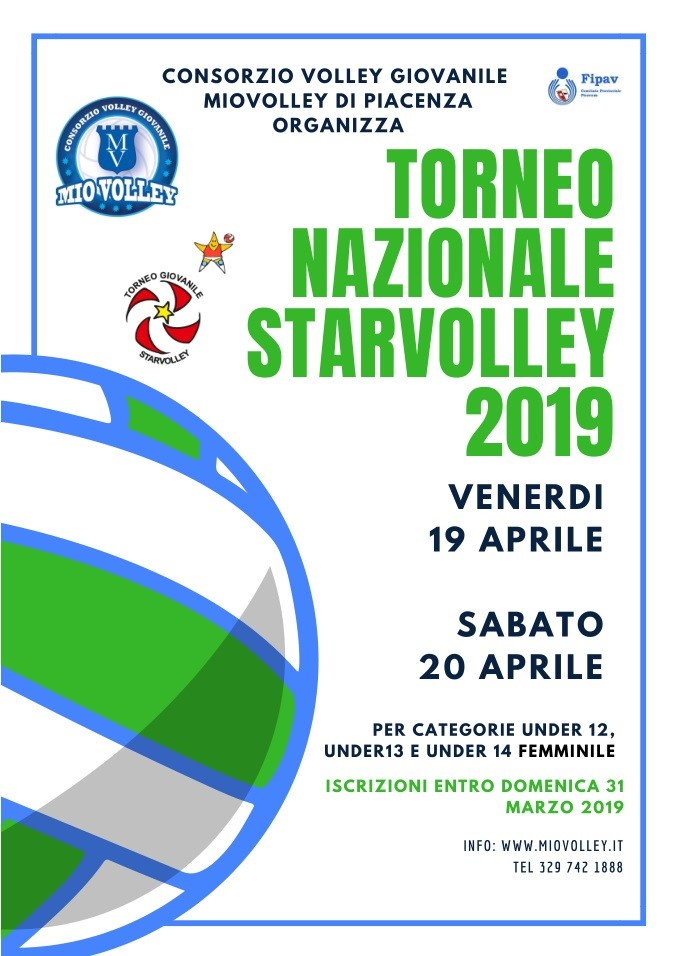Torneo Starvolley 19-20 Aprile