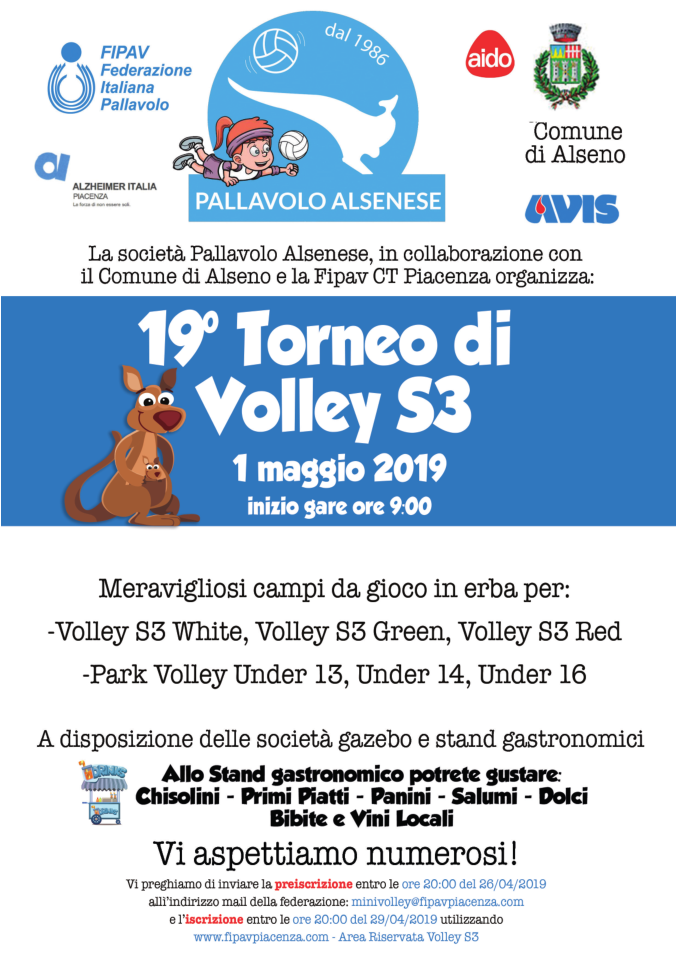 Tappa VOlley S3 ALSENO